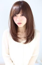 30代に似合う髪型ヘアスタイル ミディアム ストレート Getbeauty