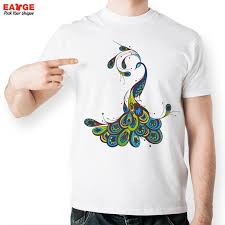 How To Design A Shirt With Paint Mascube Colorful Peacock T Shirt Design Paint T Shirt Style Cool