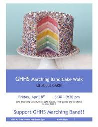 Cake Walk Cake Designs Grandview Heights Schools