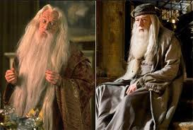 two different actors played this harry potter character and fans richard harris sadly died of cancer after filming the chamber of secrets michael gambon