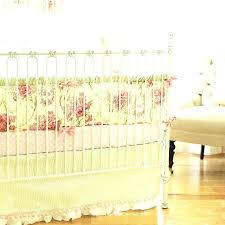 vintage rose crib bedding fl