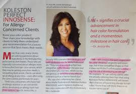 Koleston Perfect Innosense Color Chart Gina Taro Salon Allergy Specialist Wella Koleston