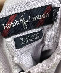 Rare Striped Ralph Lauren Label - The Unextreme