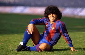 Diego Maradona beim FC Barcelona: »Bis auf schwanger zu werden, ist ihm  hier alles passiert« - DER SPIEGEL