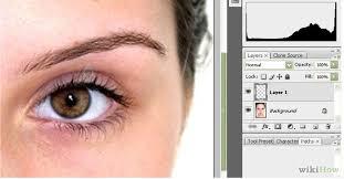 apply makeup in adobe photo cs3 step 1 jpg