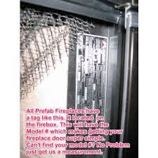 heat n glo replacement glass doors