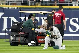 Bassitt spent several minutes down on the mound with the training staff, who held multiple towels to the side of his face. D0iqb Q9gas0m