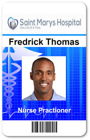 Hospital Id Badge Template For Netcloudid All Things Id