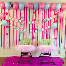 Small Picture Birthday decorations to make at home Home decor ideas