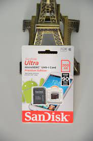 Thẻ nhớ 200GB MicroSDXC Sandisk Ultra 600x 90/15 MBs - Tuanphong.vn