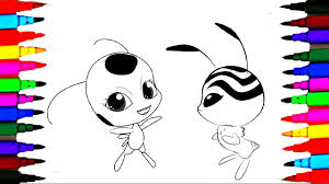 Coloring Pages Ladybug Miraculous L How To Color Kids Drawing Pages