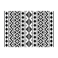 black and white aztec rug patterns bedding stylist black and white black and white aztec rug