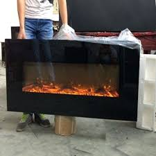 50 inch electric fireplace hot wall mounted or hanging with fake wood color changing napoleon azure reviews