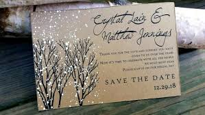 Winter Wedding Save The Date Save The Date Postcards Winter Wedding Save The Dates Winter Etsy