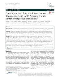 Pdf Current Practice Of Neonatal Resuscitation