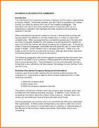 It Solutions Business Plan Executive Summary Examplearmer Resume