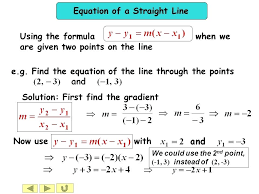 mathletics mathway trig given two points find the standard form equation of a line