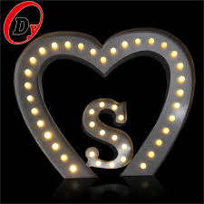 Marquee Sign With Lights Oem Factory Custom Metal Led Bulb Letters Marquee Sign Lighted Up Wedding Letters And Signs Buy Wedding Letters And Signs Light Up Letters For