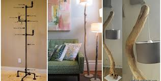lighting diy. Stunning 15 DIY Floor Lamps To Complete A Room Lighting Diy E