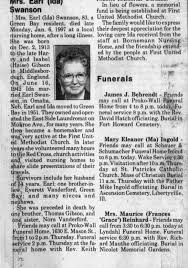ida gibson swanson obit 1997 - Newspapers.com