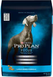 Purina Pro Plan Focus Adult Large Breed Formula Dry Dog Food 18 Lb Bag