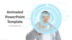 Animated Future Technology Powerpoint Template Slidesbase