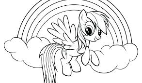 Free Rainbow Dash Coloring Pages Rainbow Dash G Pages Free Page