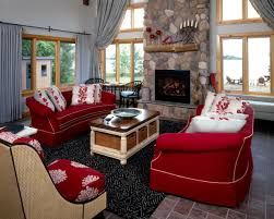 Living Room With Red Furniture 5 Ways To Decorate With Red Hgtv