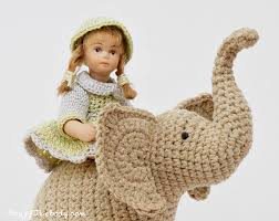 Crochet Stuffed Elephant Pattern Magnificent Inspiration Ideas