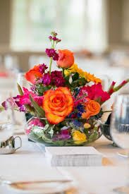 ... Bright & Colorful Wedding Centerpieces, Floral