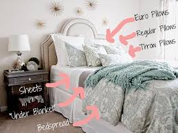 How to make bed sheet Duvet How To Make Bedlook Amazing The Decor Formula How To Make Bedlook Amazing The Decor Formula