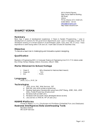 Fair Resume Format For Job Interview Free Download On Sample