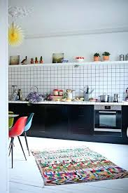 colorful kitchen rugs news alluring washable rug runners and