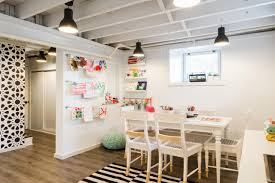 Smart Design Ideas For Underused Basements HGTVs Decorating - Exposed basement ceiling