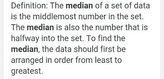 What Is Median Weight Brainly In