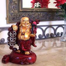 Furniture Outlet 1 2 034 Carved Gemstone Smile Laughing Buddha