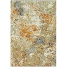 8 x 11 large gold and beige area rug evolution