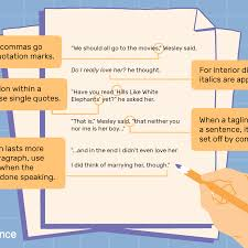 When Do I Use A Comma Learn How To Punctuate Dialogue In Fiction Writing