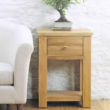aston solid oak hidden. Aston Oak Lamp Table-9556 Solid Hidden H
