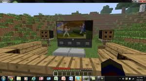 Minecraft Living Room Minecraft Tutorial Nice Living Room And Tv Setup Youtube