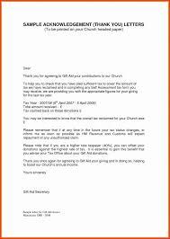 006 Donation Thank You Letter Template Unbelievable Ideas