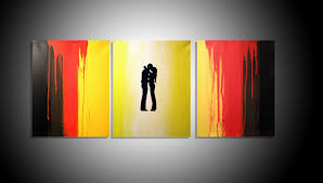 large wall romantic romance art triptych 3 panel wall art super tech on large horizontal canvas wall art with amazing triptych wall art canvas mold wall art collections