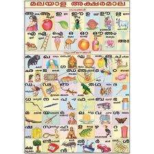 Malayalam Alphabet Chart 70x100cm