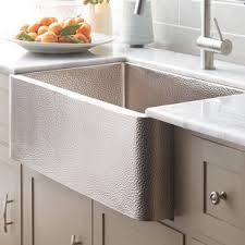 hammered stainless steel farmhouse sink. Quickview Intended Hammered Stainless Steel Farmhouse Sink