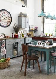 Shabby Chic Kitchen Furniture Shabby Chic Kitchen With Different Touch The Kitchen Inspiration