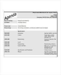 How To Write An Agenda Of A Meeting Free 26 Agenda Examples In Doc Examples