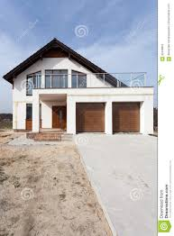 Balcony Over Garage Design Building New House With Ceramic Tiles Roofing Garage And