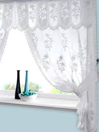 vintage lace curtain panels astonishing black curtains designs home ideas 44