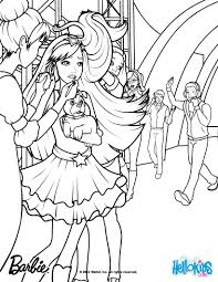 Tori Is Backstage Barbie Coloring Page More Barbie The Princess