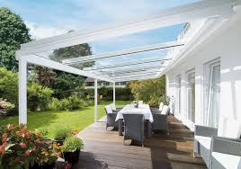 glass patio roof terrazza